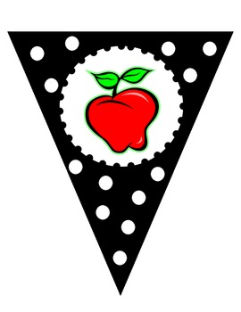Black and White Welcome Banner - Apple Theme