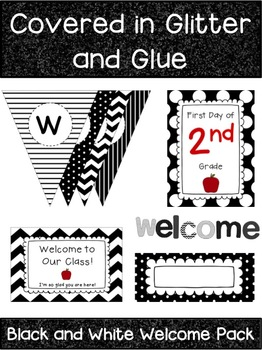 Black and White Welcome Pack