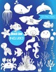 Cute Clipart of Sea Creatures, Under the Sea