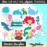 Cute Clipart of Sea Creatures, Under the Sea