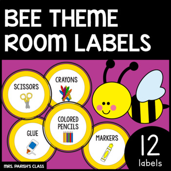 Black and Yellow Classroom Labels!!!