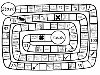 Black-and-white board game