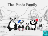 Black and white panda stories for infants