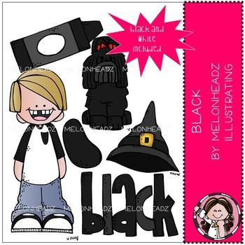 Black clip art - Mini - by Melonheadz