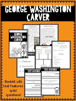 Black history month text features booklets