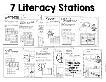 Stations:  Black ink ONLY for January