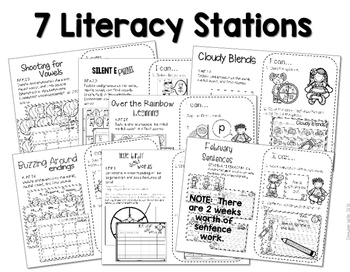 Stations: Black ink ONLY for March