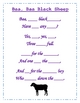 Black sheep - poetry packet