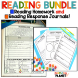 Reading Logs Reading Comprehension Sheets and Response Jou