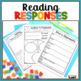 Reading Log and Reading Response