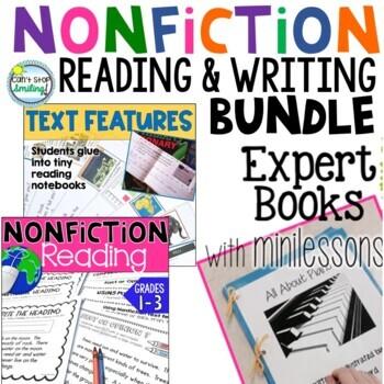 Nonfiction Reading ~ Nonfiction Writing ~ 2nd Grade 3rd Grade