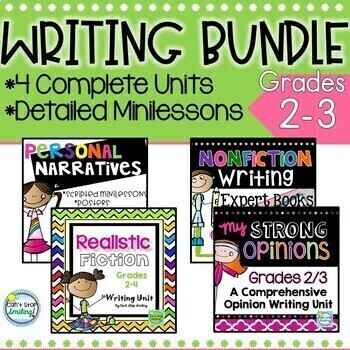 2nd Grade Writers Workshop ~ Common Core Writing 2nd Grade and 3rd Grade