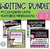 2nd 3rd Grade Writing Workshop Bundle~ Common Core Writing with Minilessons