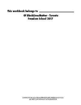 BlackLivesMatter - Freedom School Workbook