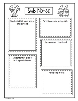 Editable Teacher Binder and Organizer - Black/White