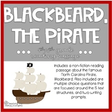 Blackbeard Reading Passage