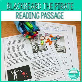 Blackbeard: Reading Passage Set