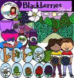 Blackberries clip art