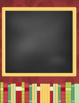 Creative Teacher Resume - Blackboard Template