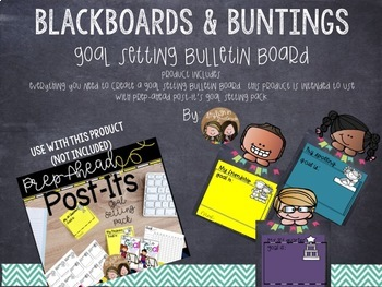 Blackboards and Buntings Goal Display