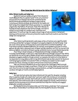 Blackfish Unit-Common Core Aligned!