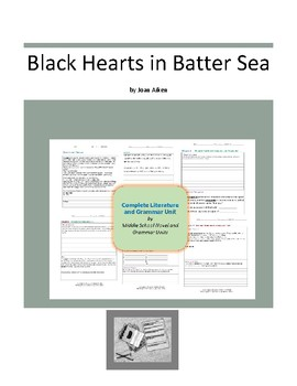 Blackhearts in Battersea Complete Literature and Grammar Unit