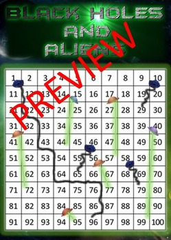 Blackholes and Aliens- The evolved Snakes and Ladders