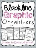 Reading Graphic Organizers (B&W)