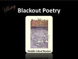 Blackout Poetry 2-day Lesson Plan