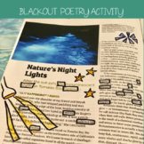 Blackout Poetry: Creative Poetry Activity for any Poetry Unit