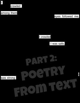 Blackout Poetry Interactive Google Slides