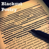 Blackout Poetry - Presentation and assignment