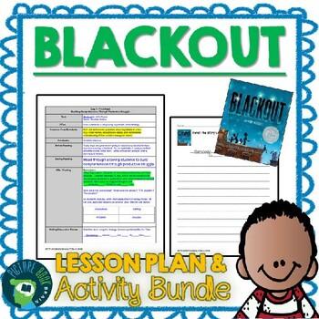 Blackout by John Rocco 4-5 Day Lesson Plan