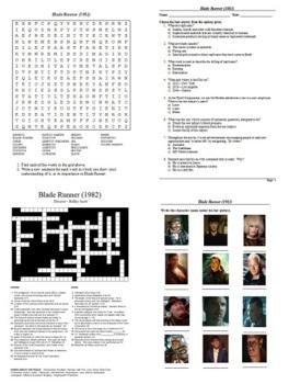 Blade Runner (1982) - Active Learning Tasks Bundle