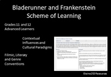 Bladerunner and Frankenstein Scheme of Learning and Resources