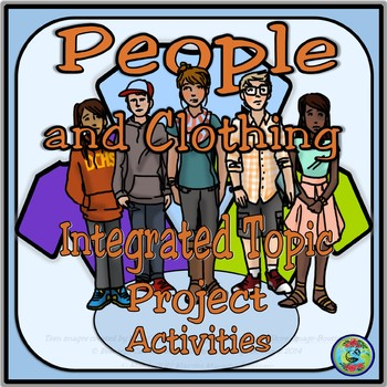 Muñecos People and Clothing Project With Activities