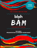 Blah to Bam! Figurative Language Lesson