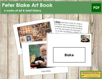 Blake (Peter) Art Book