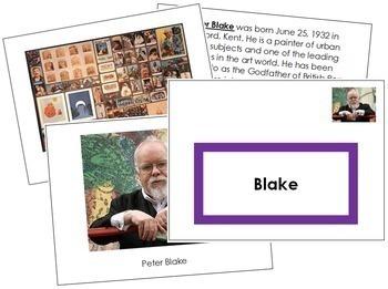 Blake (Peter) Art Book - Color Border