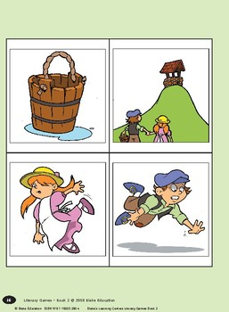 Blake's Learning Centres - Literacy Games - Book 2