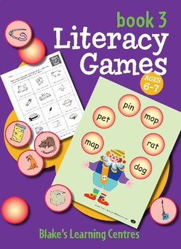 Blake's Learning Centres - Literacy Games - Book 3