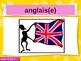 Blanc Unit 1 Vocabulary PowerPoint