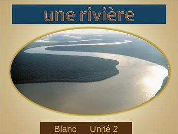 Blanc Unit 2 vocabulary power point
