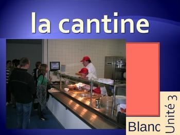 Blanc Unit 3 Vocabulary PowerPoint