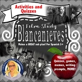 Blancanieves Film Quizzes and Activities