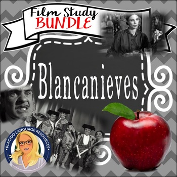 Blancanieves Film Study BUNDLE