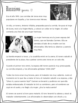 Blancanieves (Pablo Berger film) Film Study