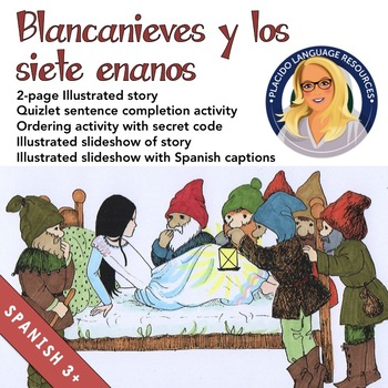Blancanieves / Snow White Story and Activities