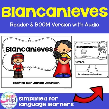 Blancanieves Spanish Snow White Reader ~ Simplified for Language Learners
