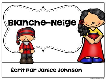 Blanche-Neige French Snow White Reader ~Simplified for Language Learners